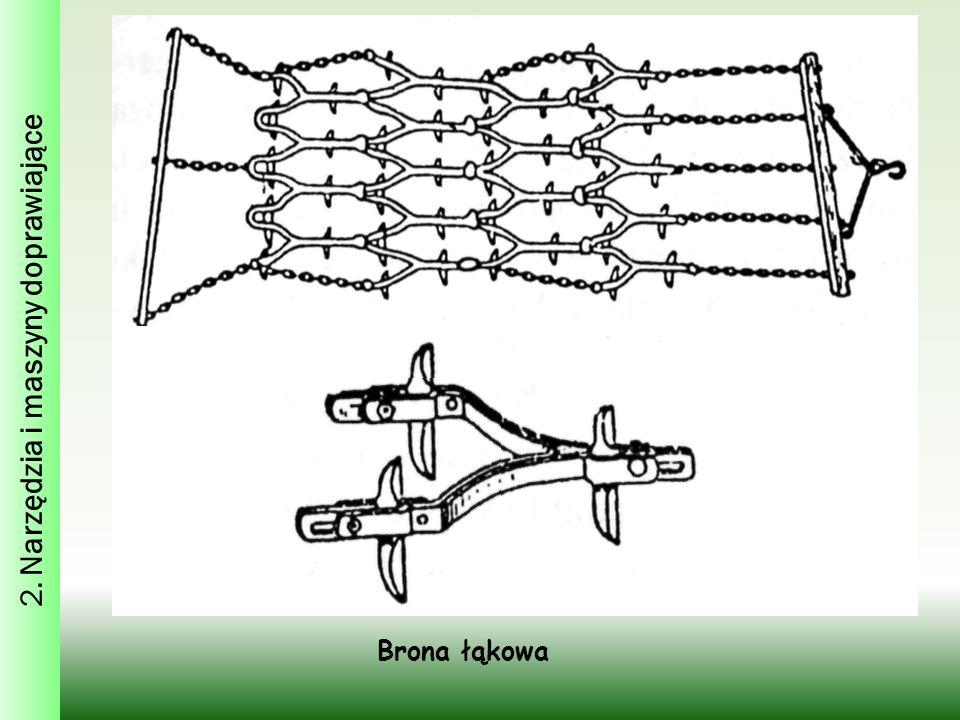 Brona łąkowa 2. Narzędzia i maszyny doprawiające