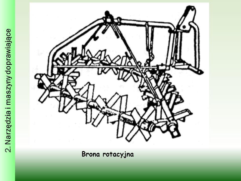 Brona rotacyjna 2. Narzędzia i maszyny doprawiające