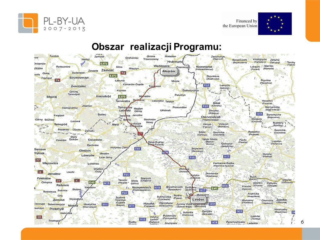 6 Obszar realizacji Programu:.