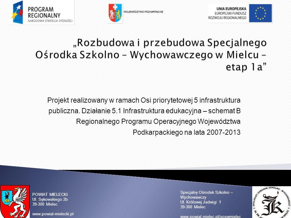 Specjalny Ośrodek Szkolno – Wychowawczy Ul.