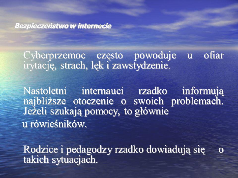 Bezpieczeństwo w internecie Art.190 § 1 k.k.
