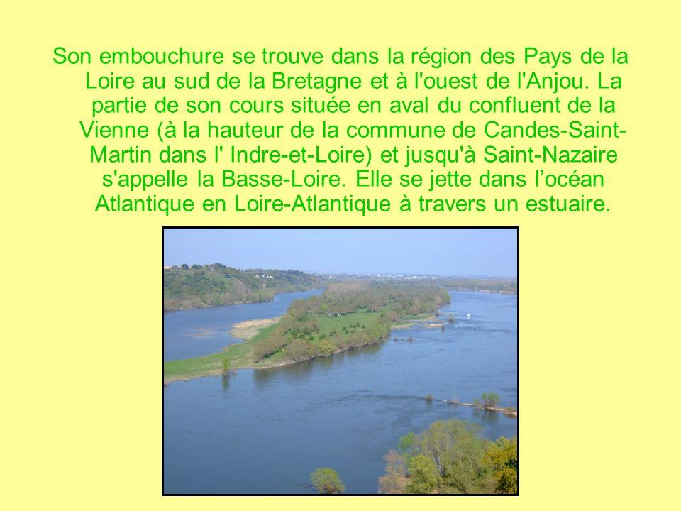 Son embouchure se trouve dans la région des Pays de la Loire au sud de la Bretagne et à l ouest de l Anjou.