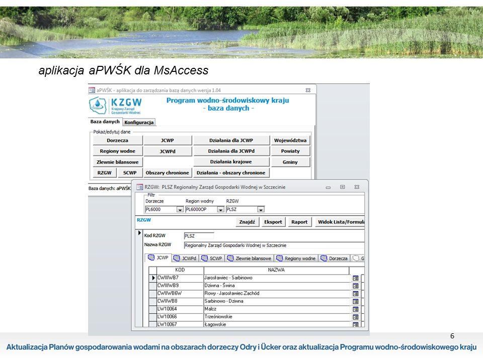 6 aplikacja aPWŚK dla MsAccess
