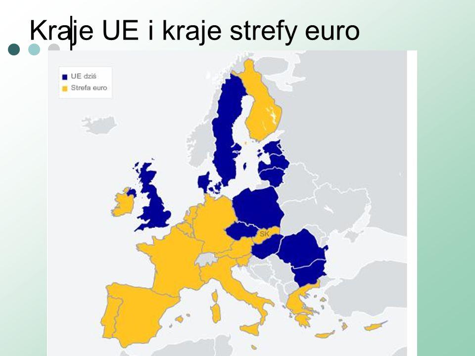 Kraje UE i kraje strefy euro