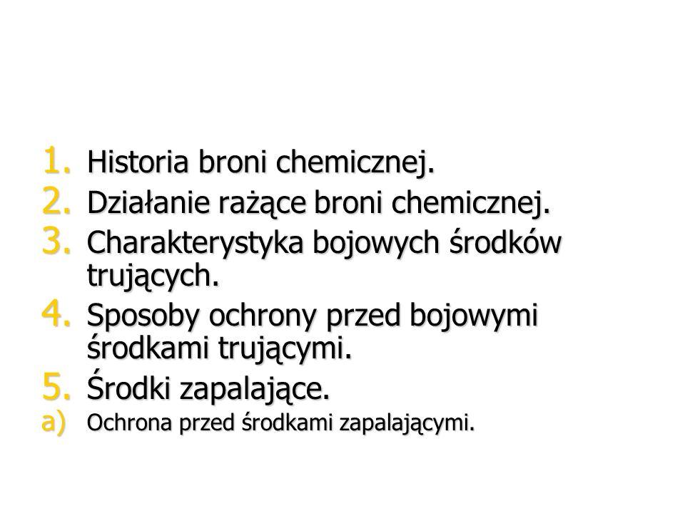T: BROŃ CHEMICZNA