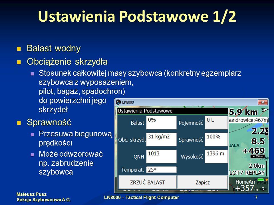 Mateusz Pusz Sekcja Szybowcowa A.G.