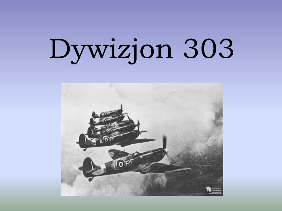 Mirosław Ferić Pilot Dywizjonu 303.