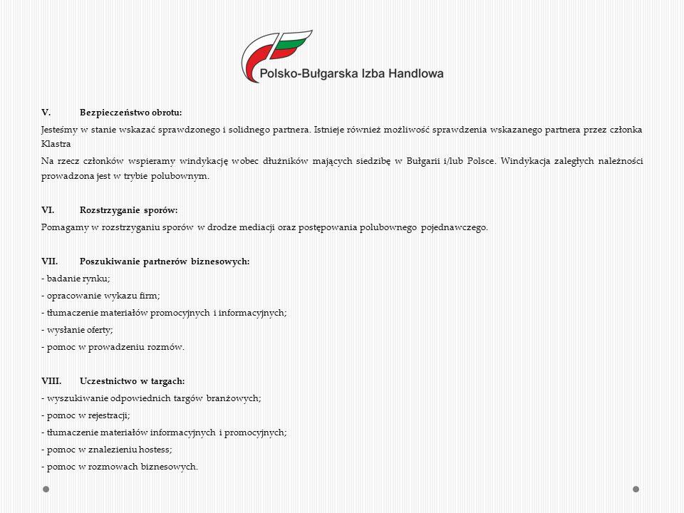 IX.Tłumaczenia (przysięgłe i zwykłe): - tłumaczenia umów i dokumentów; - tłumaczenia dokumentów przetargowych; - tłumaczenia artykułów, wywiadów itp.; - tłumaczenia ofert handlowych; - tłumaczenie i prowadzenie korespondencji handlowej.