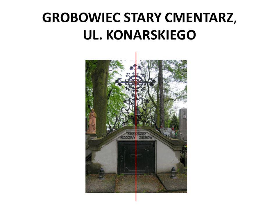 GROBOWIEC STARY CMENTARZ, UL. KONARSKIEGO