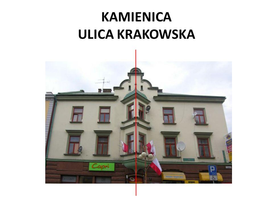 KAMIENICA ULICA KRAKOWSKA