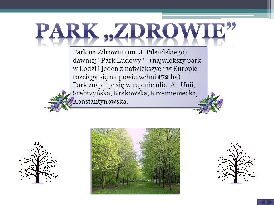Park na Zdrowiu (im. J. Piłsudskiego) dawniej