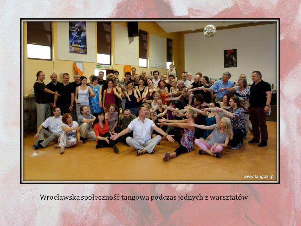 Wrocławska społeczność tangowa podczas jednych z warsztatów