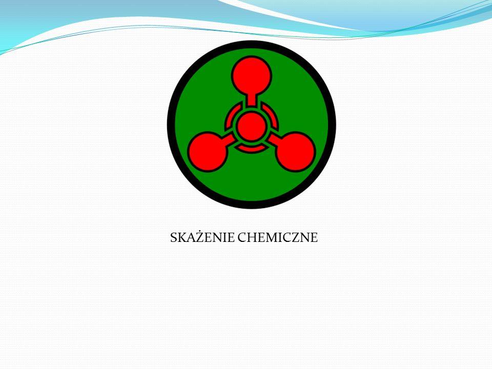 SKAŻENIE CHEMICZNE