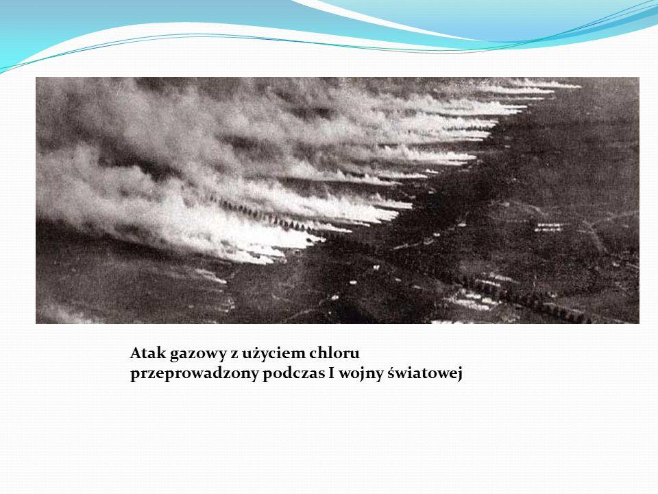 Atak gazowy z użyciem chloru przeprowadzony podczas I wojny światowej