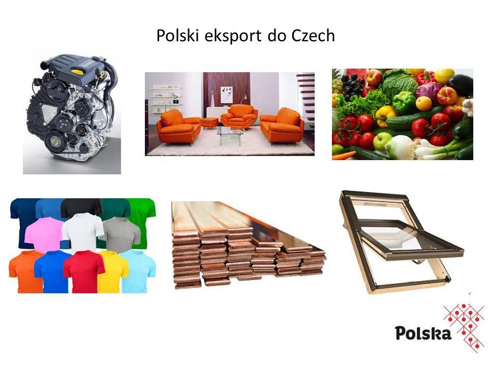 Polski eksport do Czech