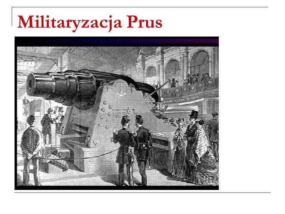 Militaryzacja Prus