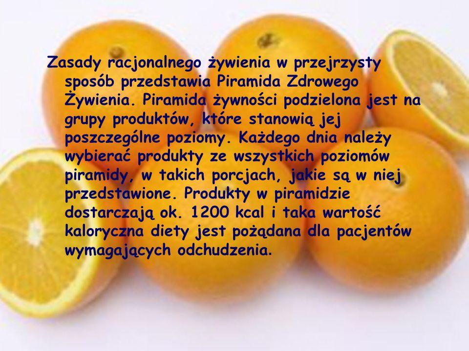 Zasady racjonalnego żywienia w przejrzysty sposób przedstawia Piramida Zdrowego Żywienia.