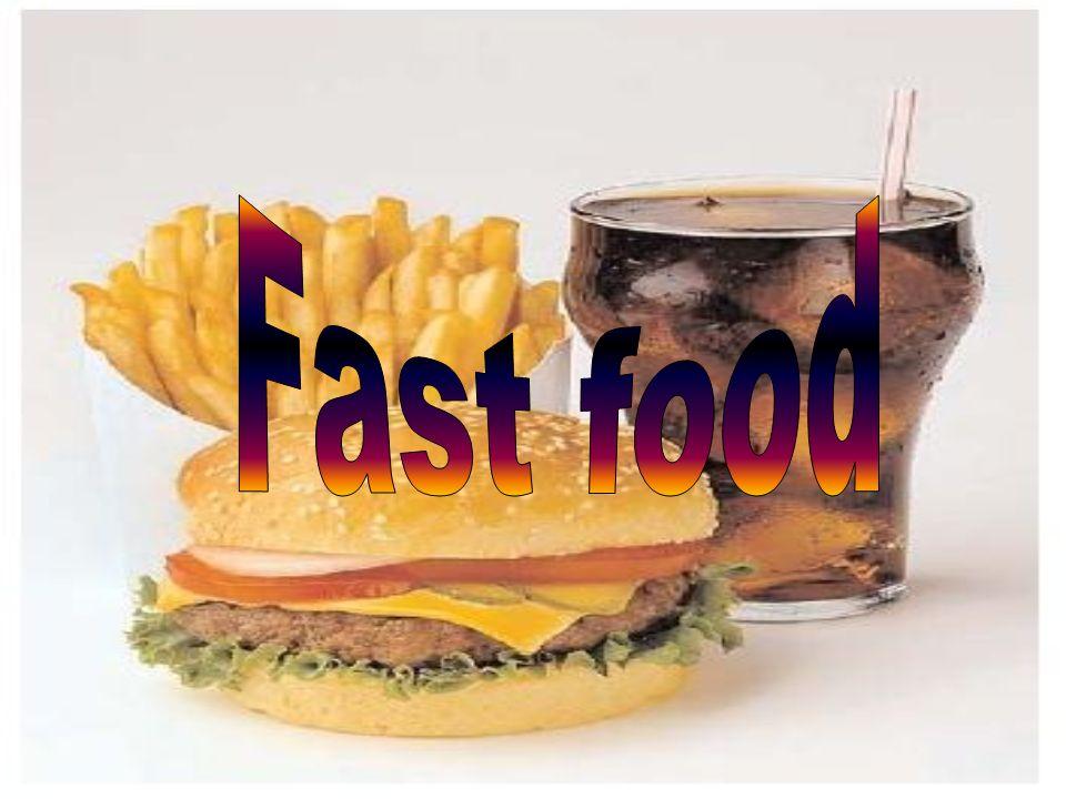 to rodzaj pożywienia szybko przygotowywanego i serwowanego na poczekaniu, na ogół taniego.
