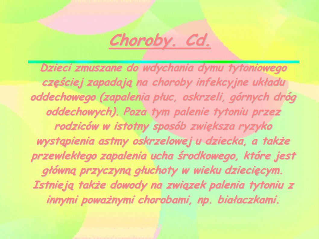 Choroby. Cd.