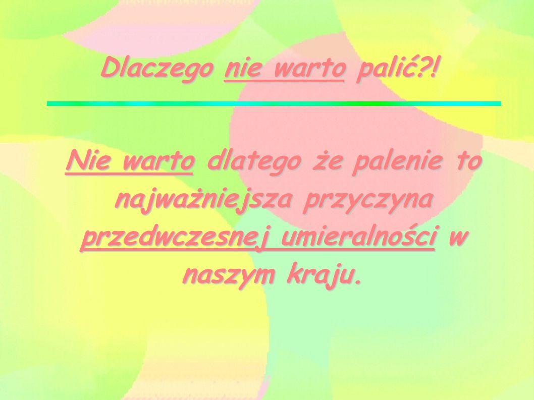 Statystyki 47% mężczyzn i 23% kobiet w Polsce w wieku 16 i więcej lat jest palaczami tytoniu.