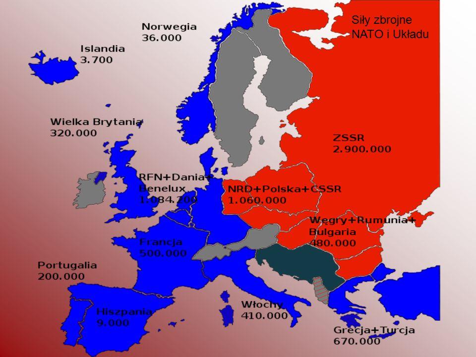 Siły zbrojne NATO i Układu