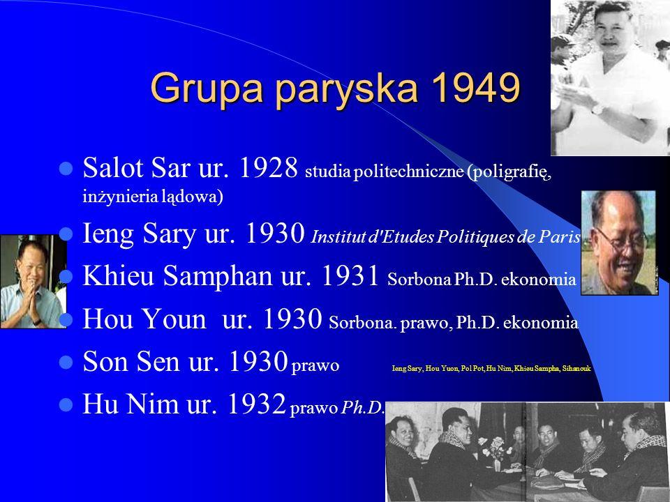 Grupa paryska 1949 Salot Sar ur.