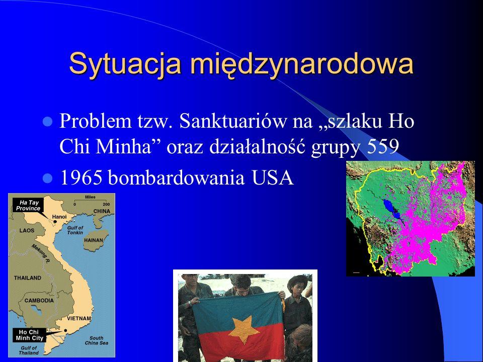 Sytuacja międzynarodowa Problem tzw.