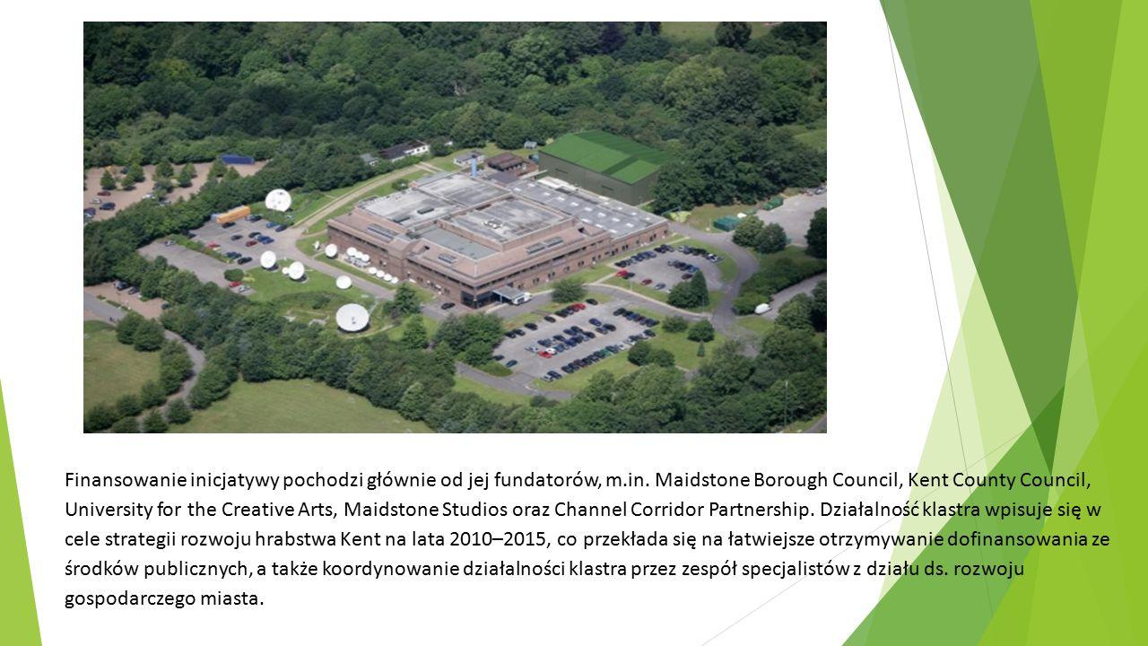 Finansowanie inicjatywy pochodzi głównie od jej fundatorów, m.in. Maidstone Borough Council, Kent County Council, University for the Creative Arts, Ma