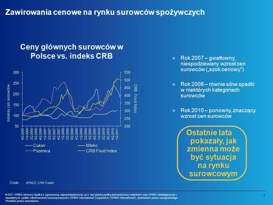 9 © 2011 KPMG Advisory Spółka z ograniczoną odpowiedzialnością sp.k.