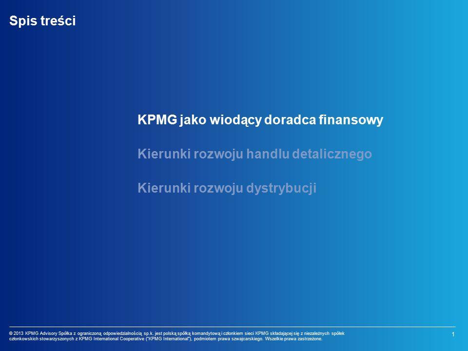 1 © 2013 KPMG Advisory Spółka z ograniczoną odpowiedzialnością sp.k.