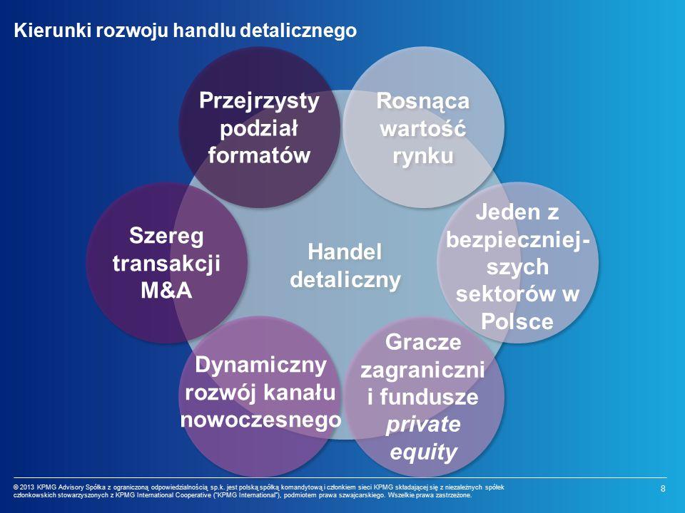 8 © 2013 KPMG Advisory Spółka z ograniczoną odpowiedzialnością sp.k.