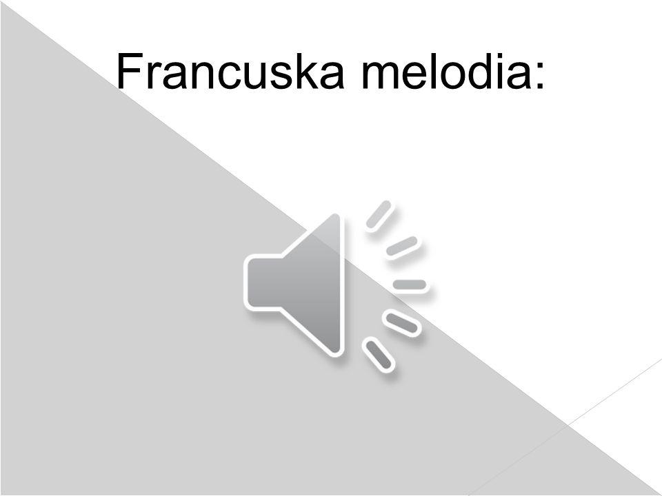 Francuska melodia: