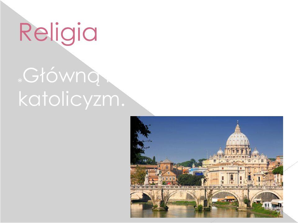 Religia  Główną religią jest katolicyzm.