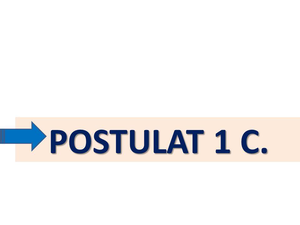 POSTULAT 1 C.