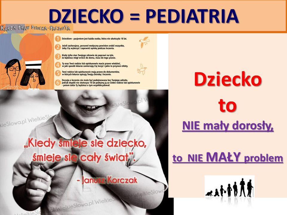 Najważniejsze problemy pediatrii !.4.