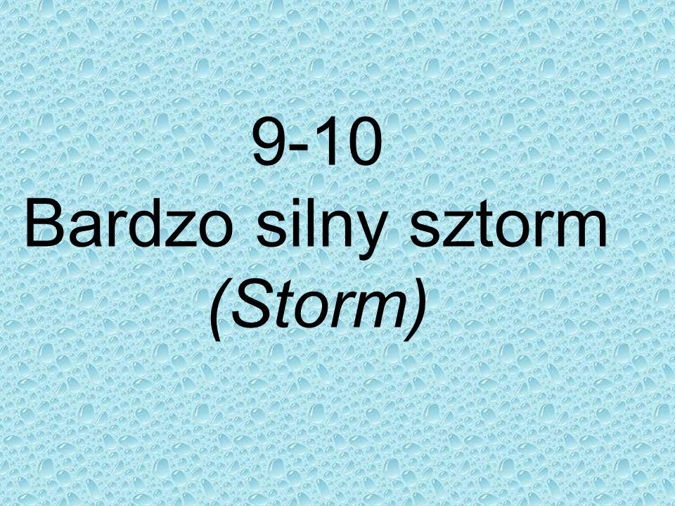 9-10 Bardzo silny sztorm (Storm)