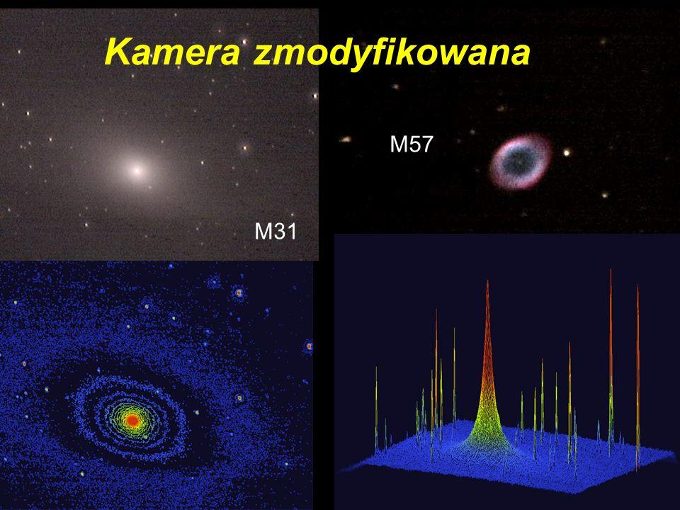 Kamera zmodyfikowana M31 M57