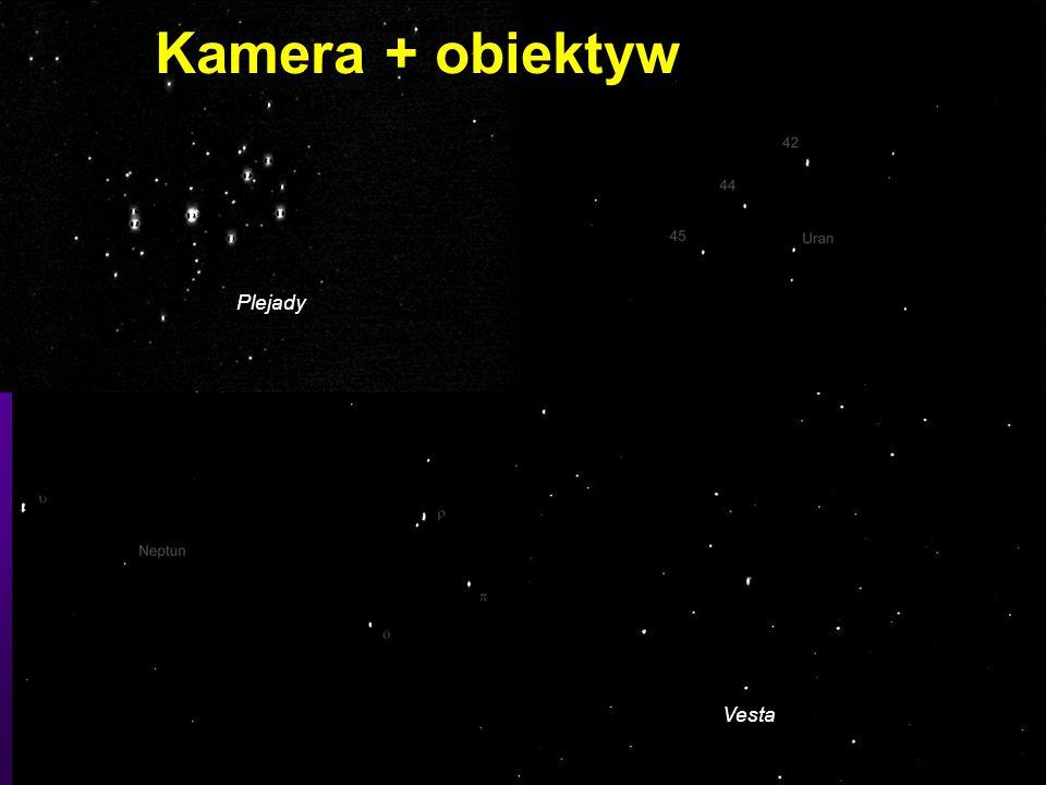 Kamera + obiektyw Vesta Plejady