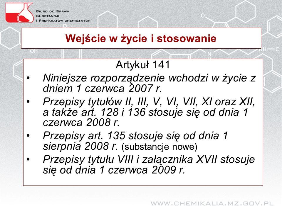 Kiedy rejestracja Art.23 2. Do dnia 1 czerwca 2013 r.