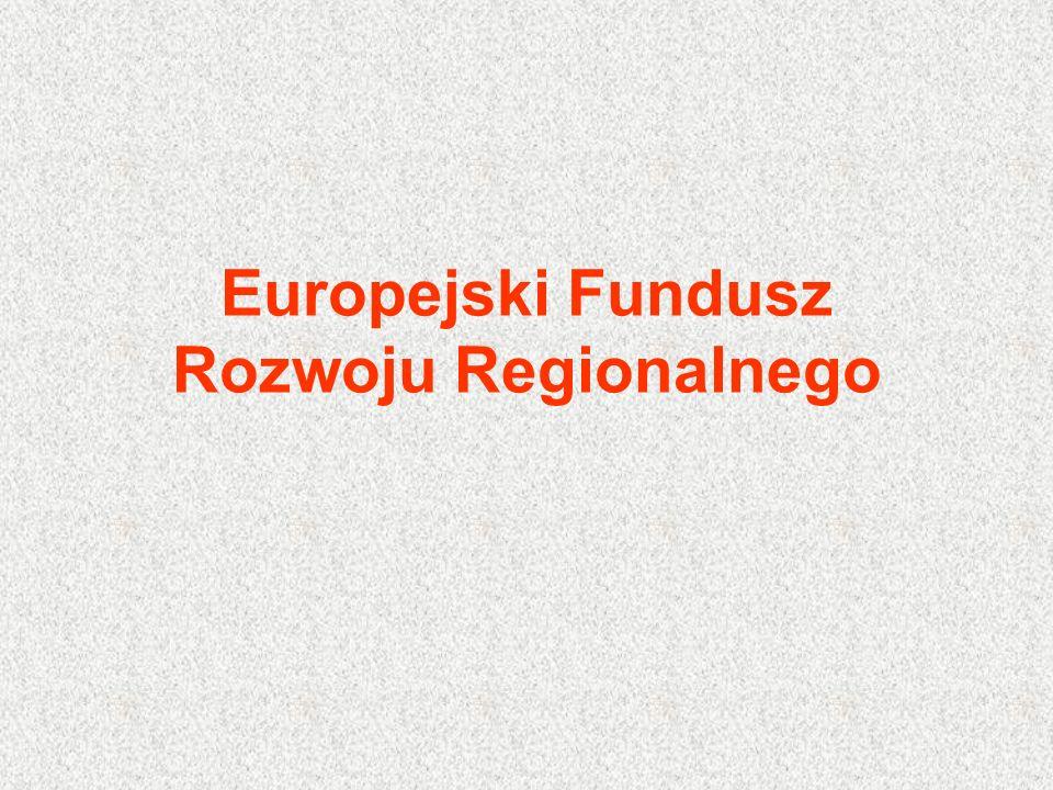 Od 1960 do 1989 roku przeciętne subwencje na rozwój regionalny nie przekraczały 2 mld ecu, z czego na EFRR przypadało niewiele ponad 1/3.
