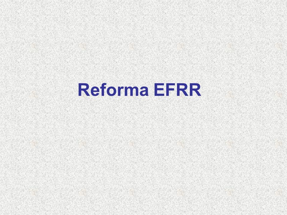 Reforma EFRR