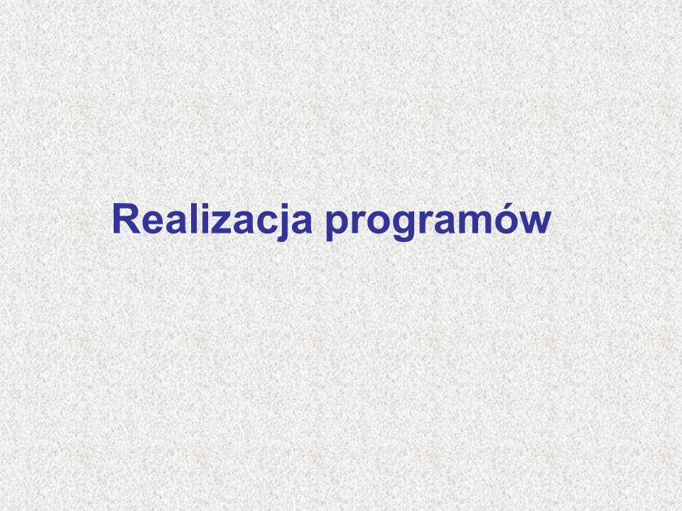 Realizacja programów