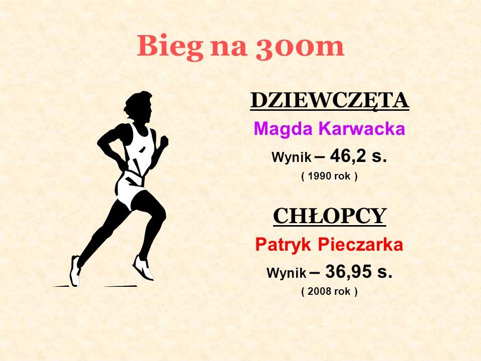 Sztafeta szwedzka CHŁOPCY Maciej Parobczak Patryk Pieczarka Daniel Szpunar Jerzy Pagórski Wynik – 2:06,32 s.