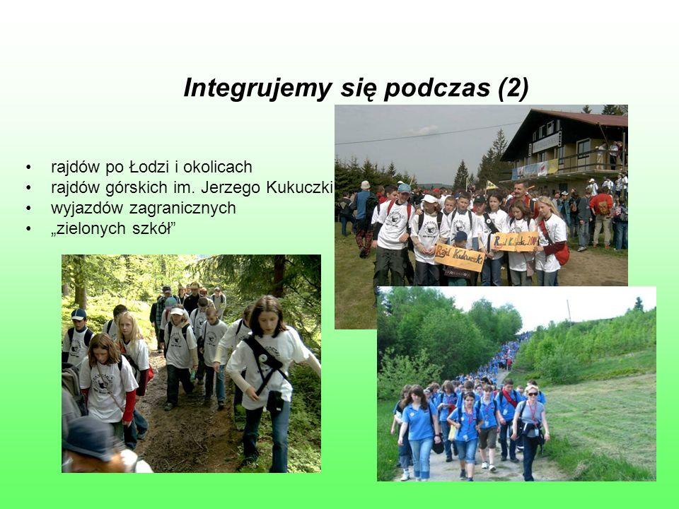 Integrujemy się podczas (2) rajdów po Łodzi i okolicach rajdów górskich im.