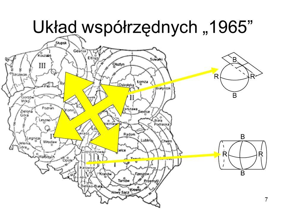 """7 Układ współrzędnych """"1965"""