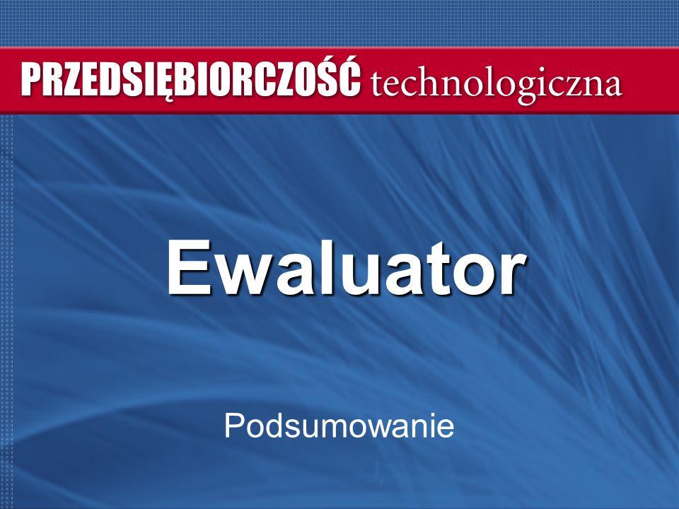 2 Ewaluator  Prezentacja projektów - wymiana informacji o projektach uczestników  Przypomnienie schematu – EWA / WKB / BP  Wyniki / podsumowanie EWA  Prezentacja nowego narzędzia - WKB (koniec prezentacji)