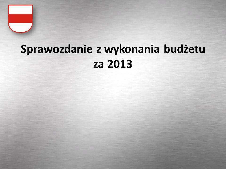 W 2012 odnotowano wysoki poziom realizacji dochodów oraz racjonalnie dokonywano wydatków, które wskutek oszczędności były zrealizowane poniżej planu.