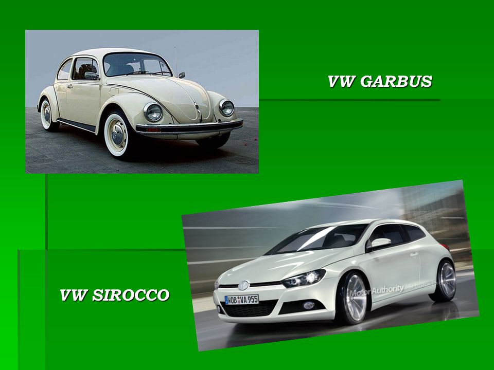 VW GARBUS VW SIROCCO