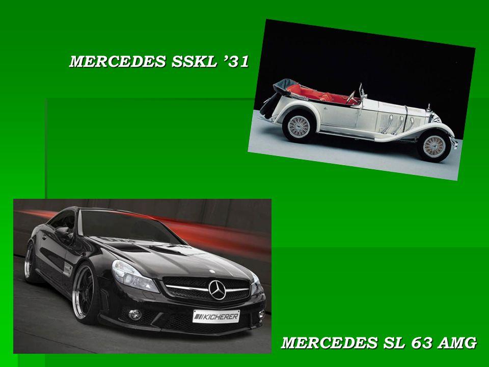 MERCEDES SL 63 AMG MERCEDES SSKL '31