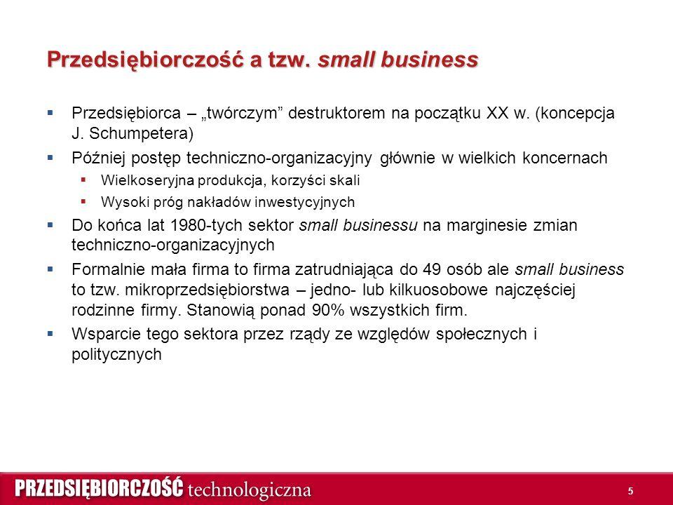 5 Przedsiębiorczość a tzw.
